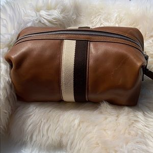 Really Cool Leather Coach Men's Dopp Bag!